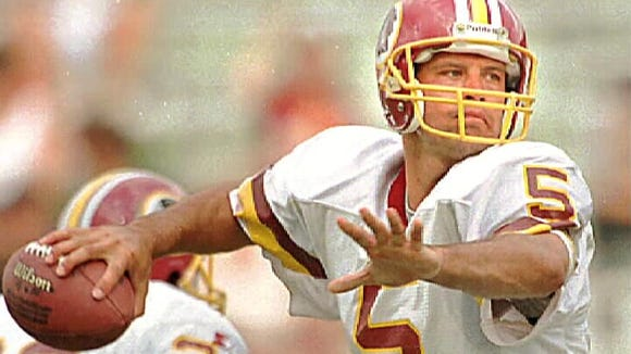 Swain County alum Heath Shuler played for the NFL's Washington Redskins.