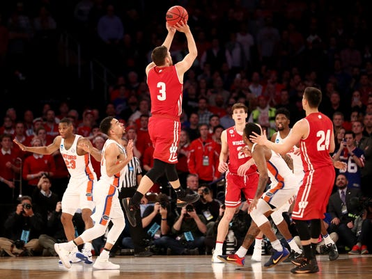 NCAA Basketball Tournament - East Regional - Wisconsin v Florida