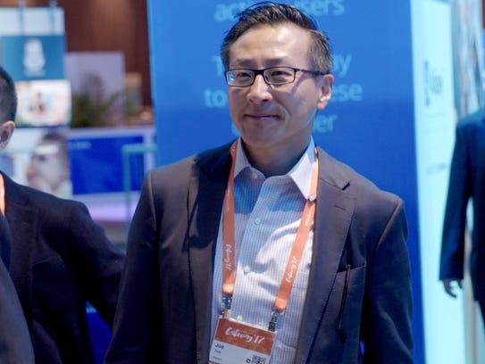 Joseph Tsai, executivevicechairman ofAlibaba, during