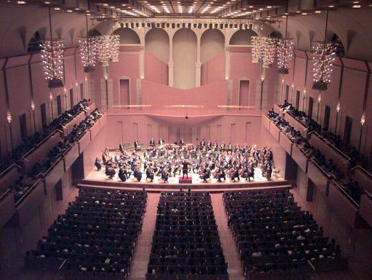 Music director Neeme Jarvi leads the Detroit Symphony
