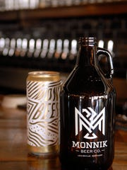 Take a growler or a can of your favorite beer home from Monnik Beer Co. at 1036 E. Burnett Ave. in Germantown.  August 30, 2017