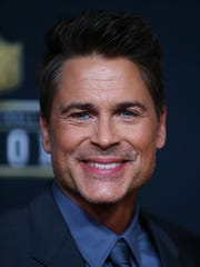 Actor Rob Lowe on the red carpet prior to the NFL Honors award ceremony at Bill Graham Civic Auditorium.