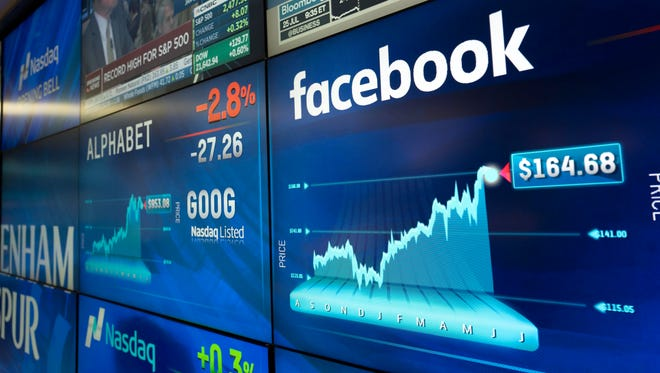 Facebook and Alphabet stocks