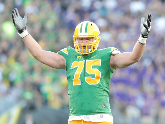 20. Philadelphia – OL Jake Fisher (Oregon). The Chip