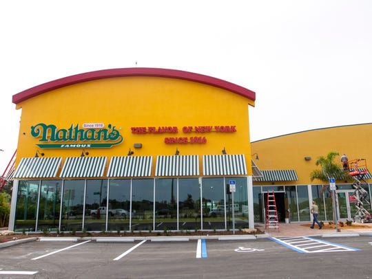 Visit Nathan's Famous on Saturday for a special hot