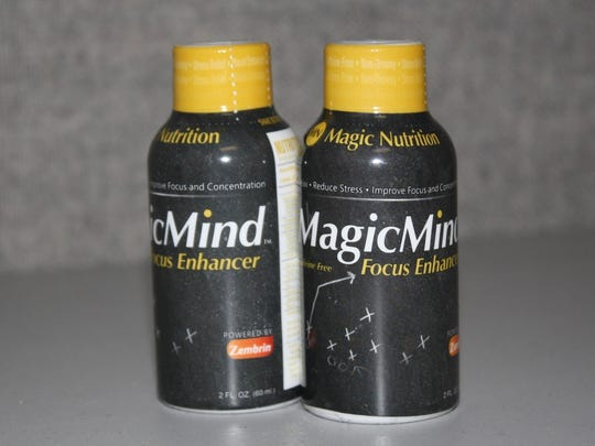 The 2-fluid-ounce MagicMind is a caffeine-free, 99.97 percent natural focus enhancer that contributes to mental health and wellness.