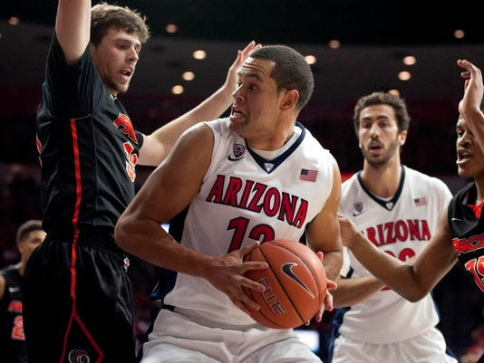 NCAA Basketball: Pacific at Arizona