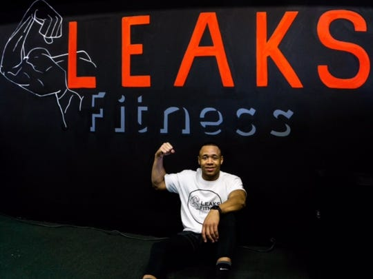 Robert Leaks, owner of Leaks Fitness in Howell.