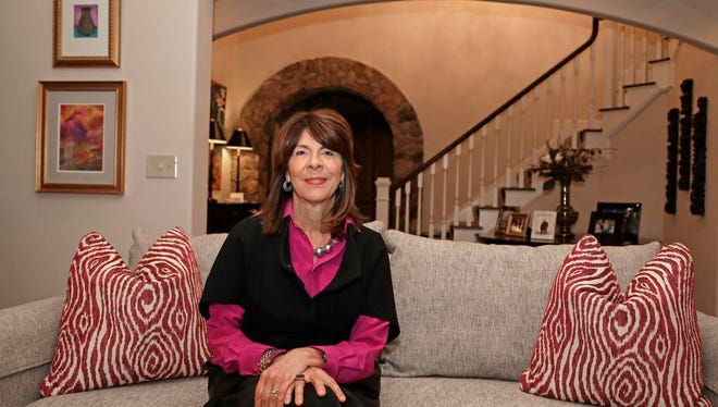 Beth Monaghan poses for a photo at her home in Charlotte. One of HB 2's chief sponsors is getting challenged in a GOP primary by the mother of a gay adult son. The law is the driving force for Beth Monaghan's candidacy against Sen. Dan Bishop of Charlotte.