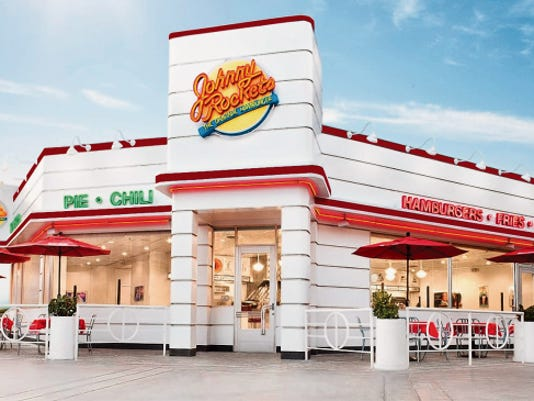COURTESY PHOTO Johnny Rockets, a California-based hamburger chain, has a development agreement with an El Paso couple to put franchised locations in El Paso beginning late this year, the company announced Wednesday.