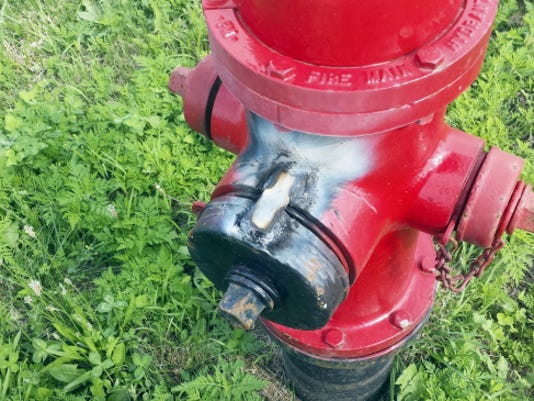Bear Valley Joint Authority has welded shut the largest connection on their fire hydrants.