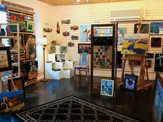 Art Ruidoso, 2809 Sudderth Drive, is the scene for this weekend's grand opening.
