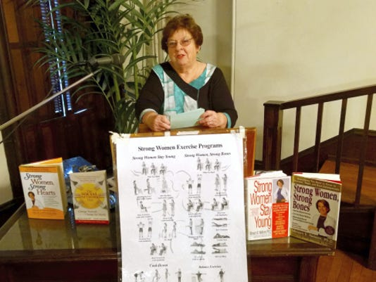 Joanne Balliet was the guest speaker at the Woman's Club of Lebanon meeting. Submitted
