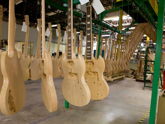 gibson guitar 39 s nashville factory sold for nearly 15m. Black Bedroom Furniture Sets. Home Design Ideas