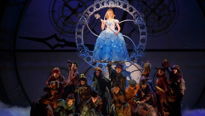 "Ginna Claire Mason plays the role of Glinda in the North American Touring Company of ""Wicked."" The show is being presented through October 15 by Broadway in Cincinnati at the Aronoff Center, 650 Walnut St., downtown."
