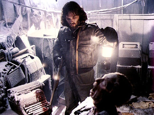 "Kurt Russell stars in the 1982 remake of ""The Thing."""
