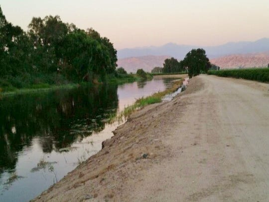 A 7-month-old boy fell off a raft while his family was rafting down the Kaweah River Tuesday evening.