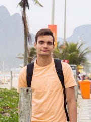 Ben Schulte, Guam Olympic swimmer in the 2012 London