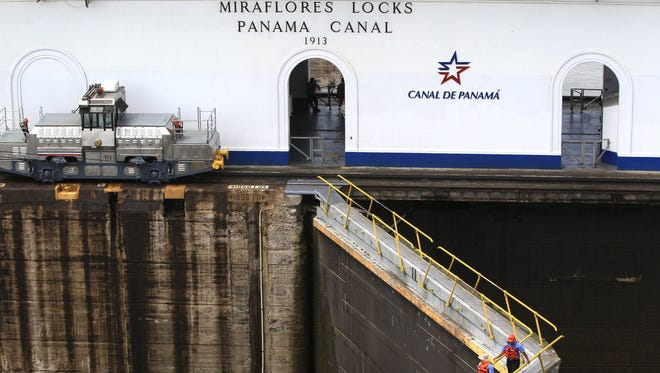 The Panama Canal.
