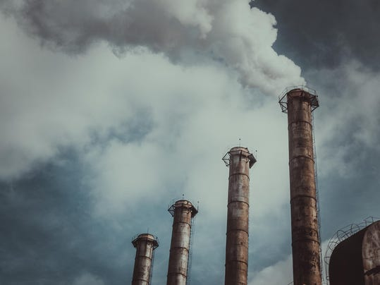 Air emissions and global warming