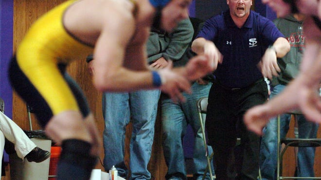 Shawsheen Valley Technical High School wrestling coach Mark Donovan