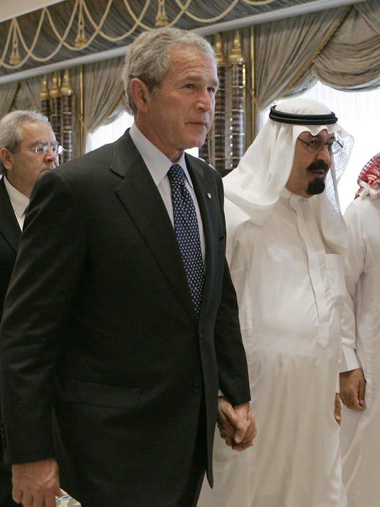 George W. Bush, King Abdullah