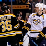 The Predators defeated the Bruins 3-2 in their previous meeting in early December.