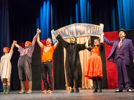 "Vermont Vaudeville presents its new show ""Too Much"