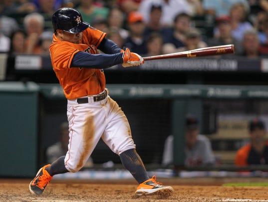 USP MLB_ Detroit Tigers at Houston Astros