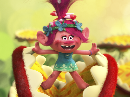 """""""Trolls"""" is an animated comedy from the team that brought"""