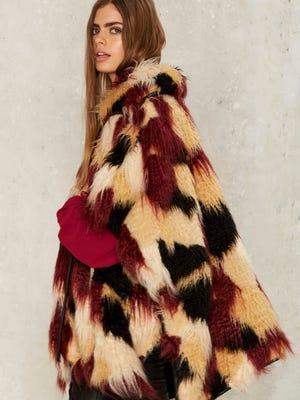 The Rye Cape Coat, $198.