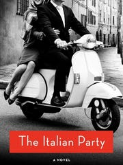"""""""The Italian Party"""" book cover."""