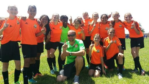 The Football Club Mesquite girl's soccer team, Crush, claimed the SU-IRL championship.