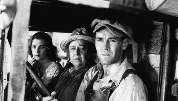 """""""The Grapes of Wrath"""" starred Henry Fonda."""
