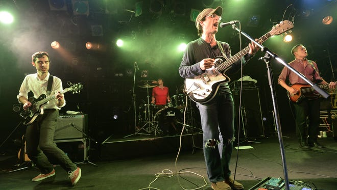 Clap Your Hands Say Yeah plays Fountain Square on Friday night.