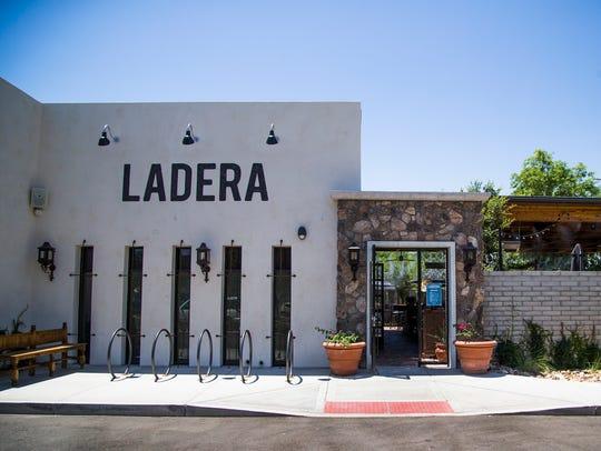 Exterior of the Ladera Taverna y Cocina restaurant in Phoenix.