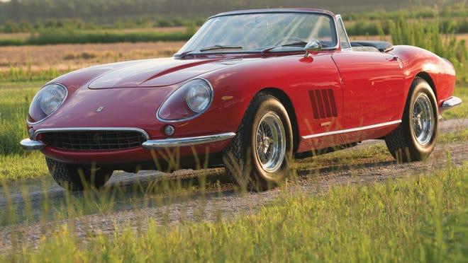 Rare 67 Ferrari Fetches 27m In Auction