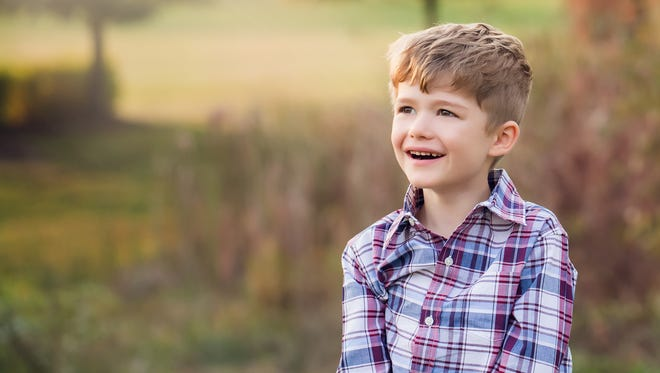 Levi Wilson, 5, is namesake of the new Levi's Link program rolling out at McLaren Port Huron. The program will provide accommodations  for patients like Levi, who is on the autism spectrum, who may have difficulties processing sensory input.