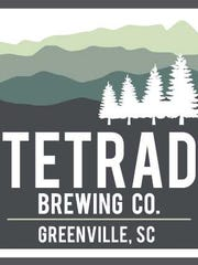 Tetrad Brewing in Greenville will open this spring.