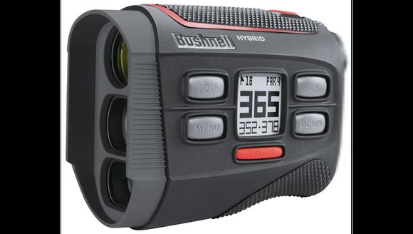 Best Gift for Golfers 2018: Bushnell Hybrid Laser Rangefinder and GPS (Photo: Bushnell)