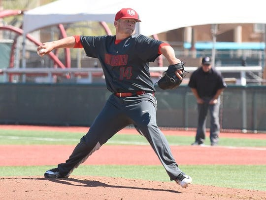 Rocky Mountain High School graduate Tyler Stevens was named First-Team All-Mountain West on Wednesday. Stevens is a sophomore pitcher at the University of New Mexico.