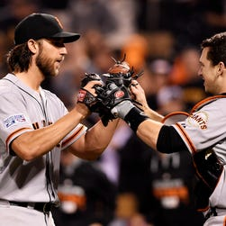 NL wild card game: Giants at Pirates