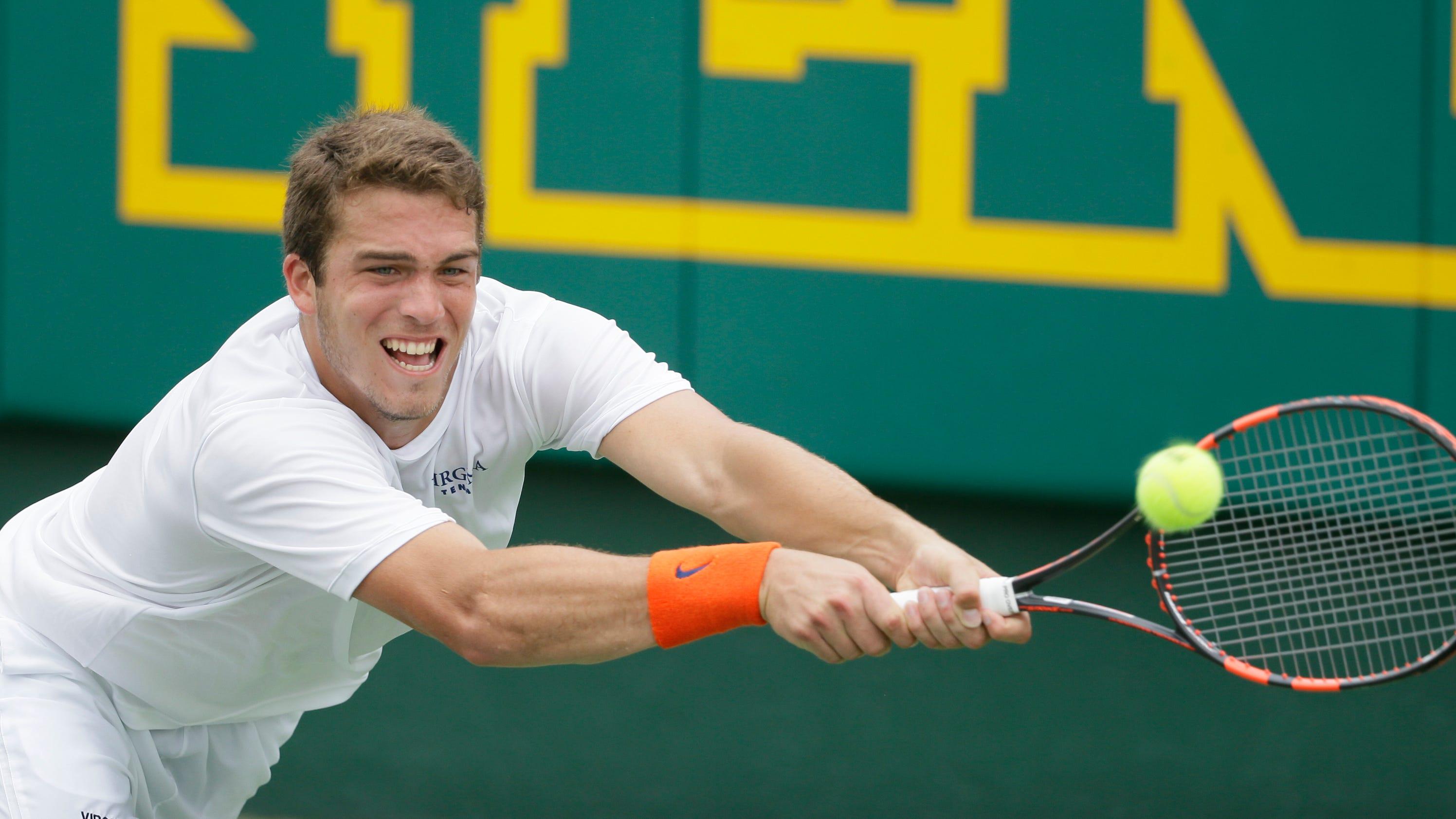 Virginia takes 2nd NCAA men's team tennis title in 3 years