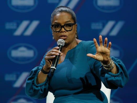 No surprise but now it's official: Oprah Winfrey is