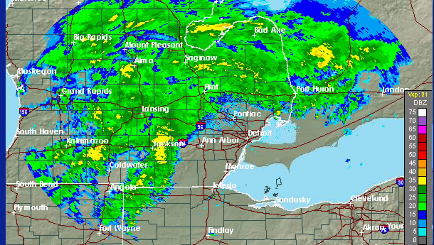 Flood warning issued for metro Detroit rivers with another day of rain expected