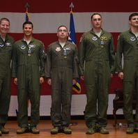 Distinguished Flying Crosses awarded to Dyess B-1 crew
