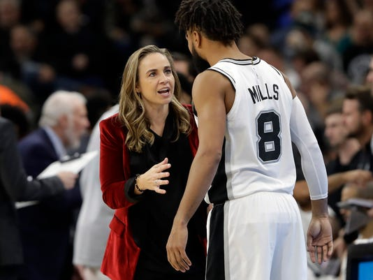 Becky Hammon, Patty Mills