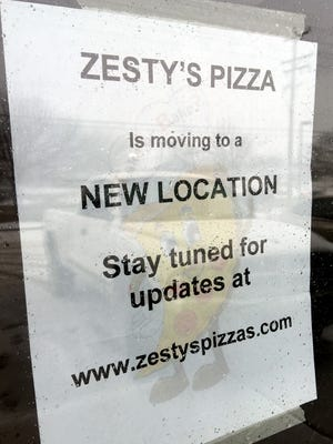 Zesty's Pizza is closed and looking for a new location.