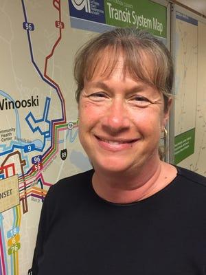 Karen Walton, general manager of Green Mountain Transit, plans to step down Jan. 20. Photographed Wednesday, July 13, 2016.