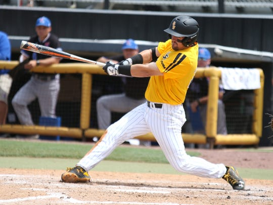 Southern Miss senior Tim Lynch is the second-leading hitter on the team this season.